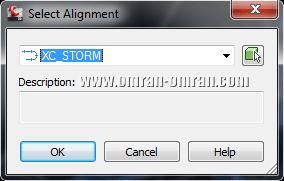 الاینمنت XC_STORM را انتخاب کنید