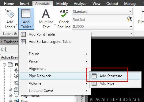 روی Add Structure کلیک کنید