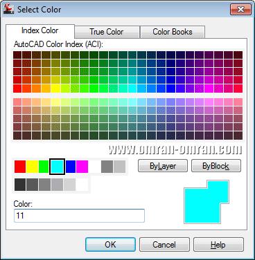 انتخاب رنگ