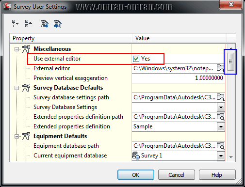 Use External editor
