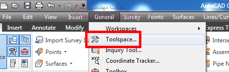 toolspace